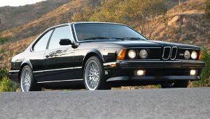 E24 6 Series (1982 - 1989)