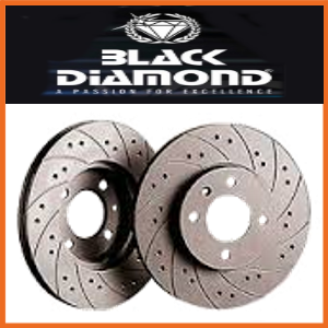 Black Diamond Brake Discs Combi (Drilled and Grooved )