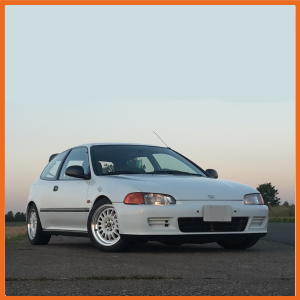 Honda Civic Hatch EG4, EG5 & EG6 (1992-1996) Civic Coupe EJ1 & EJ2 (1992-1996) CRX Del Sol EG1, EG2, EH1 & EH6 (1992-1998) Integra Type R DC2 (1995-2000)