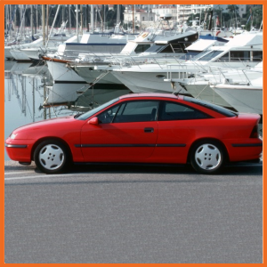 Calibra 4WD inc GSi with independent rear suspension